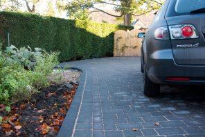 Blockpaving driveway, Menston