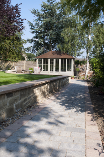 AFTER - Driveway, Path, Patio, Groundworks and Lawn, Harrogate-1