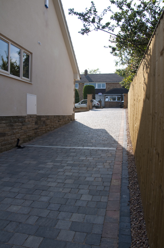 AFTER - Driveway, Path, Patio, Groundworks and Lawn, Harrogate-3