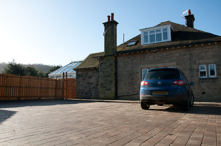 AFTER - Driveway and fencing