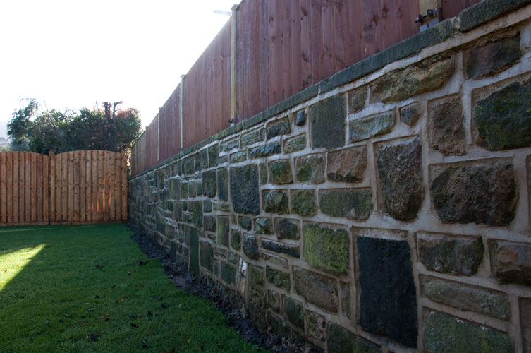 AFTER - Walling