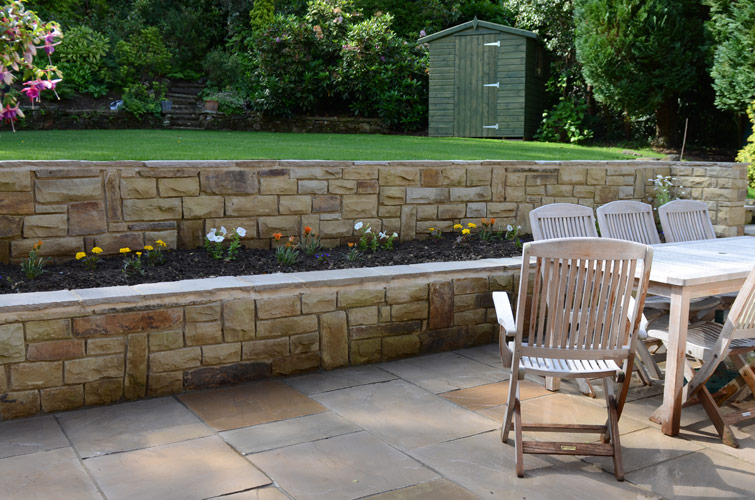 Patio Walling Amp Garden Steps Harrogate Yorkshire Pro