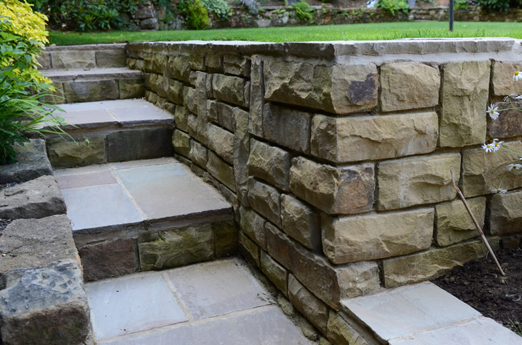 Garden Steps and Walling