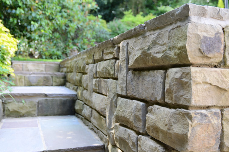 Walling and Garden Steps