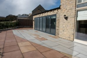 Patio and Lighting, Menston